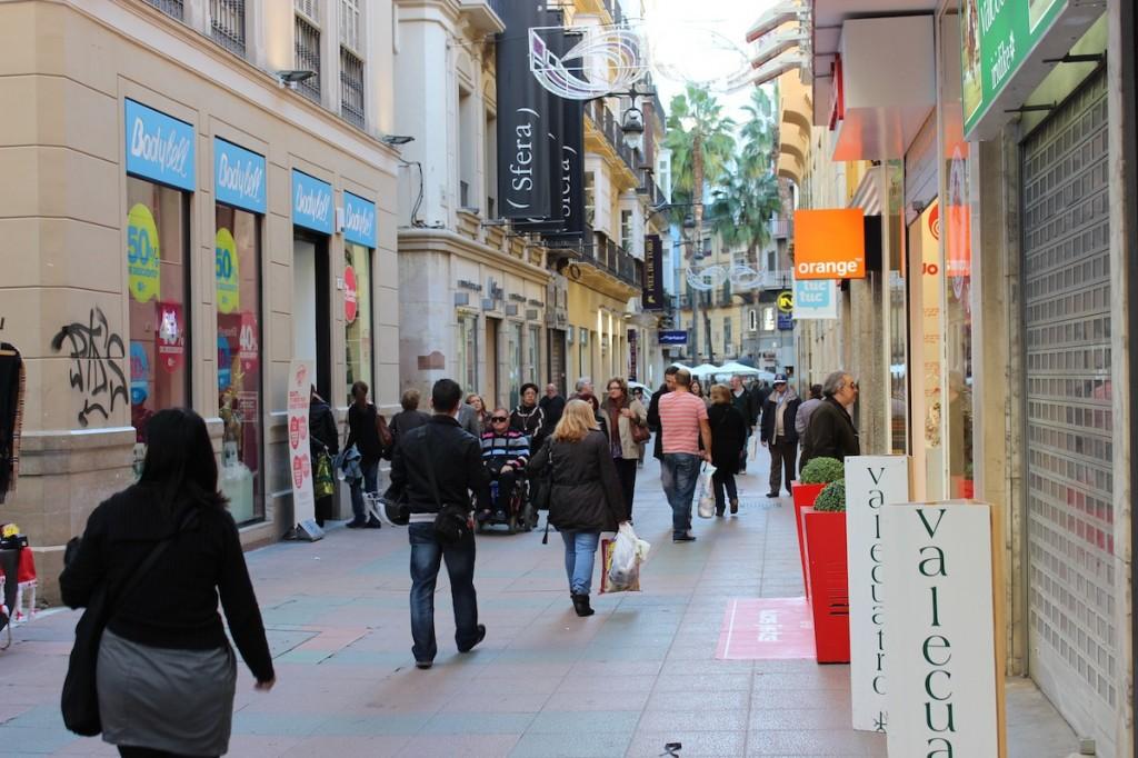 Los comerciantes del centro se han mostrado contrarios a la propuesta municipal.