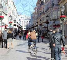 La calle Larios, terreno casi vedado para el comercio tradicional