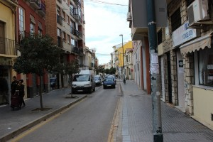 Vista de la calle Las Lagunillas. / T.M.