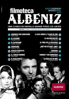 Cartel Filmoteca del Cine Albéniz