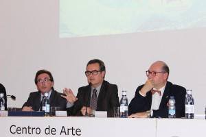 Juan Antonio Vigar durante su conferencia. / T.M.