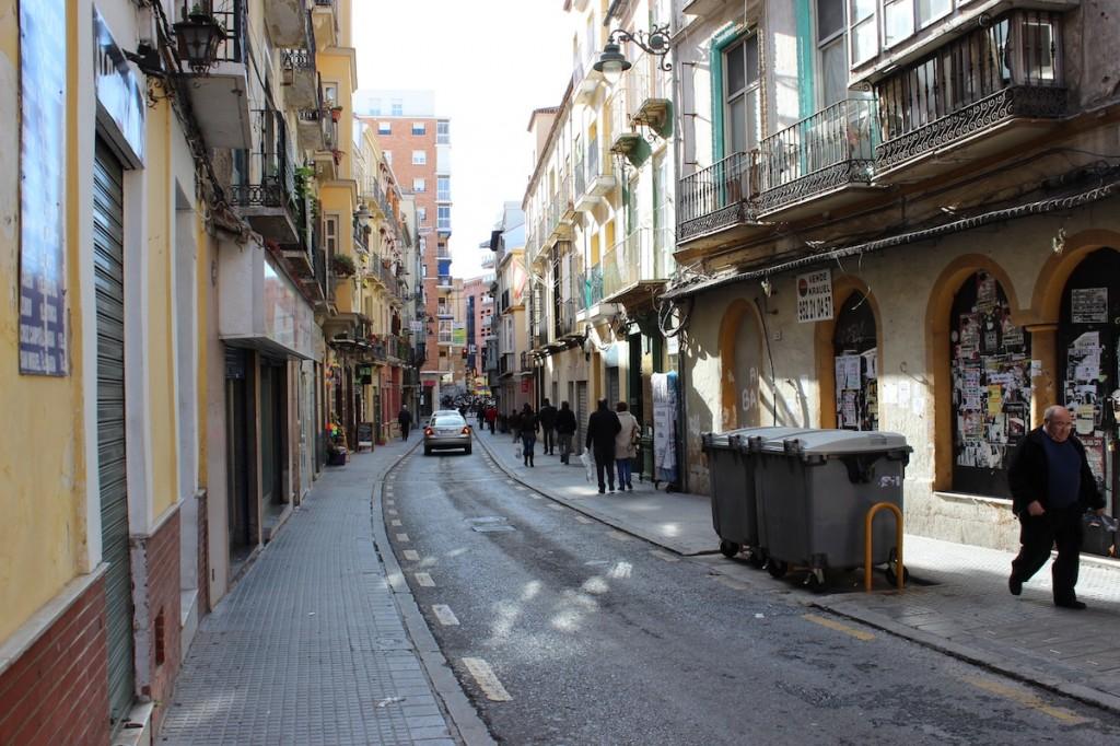 Vista de la calle Ollerías. / T.M.