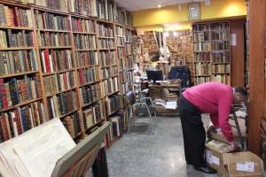 La librería de Antonio Mateos, con 75 años de historia. / T.M.