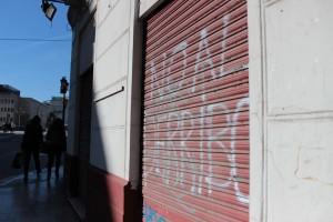 Decenas de colectivos rechazaron el derribo. / T.M.
