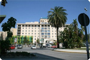 El Hospital Carlos Haya. / carloshaya.net