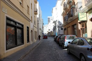 La calle Malpica, una de las históricas. / T.M.