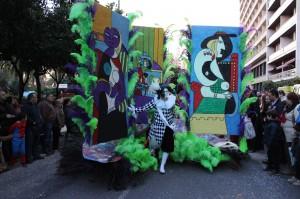 El desfile en la calle. / T.M.