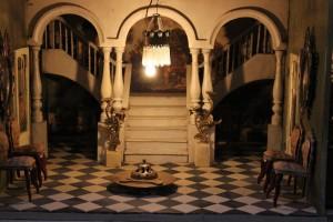 La entrada del palacio de Carranza de Cádiz. T. M.