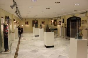 Una de las salas del Museo de Flamenco.