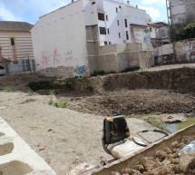 Las obras en plaza de Camas y calle Nosquera, sin fecha