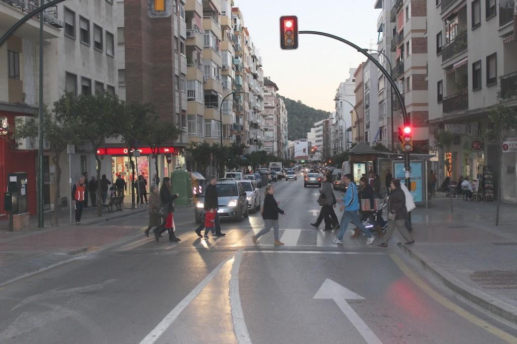 Calle Cristo de la Epidemia, una de las fundamentales en Fuente Olletas. / T.M.