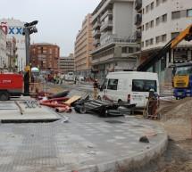 El esperado fin de las obras del metro en Callejones del Perchel, a expensas de la lluvia