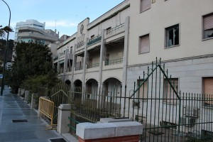 El edificio del antiguo Gobierno Militar.  / T.M.