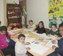 Cuando los niños colorean el barrio de Lagunillas de esperanza