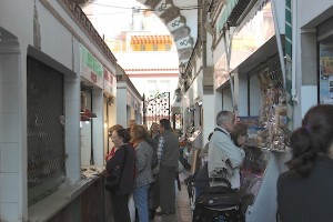 Interior del mercado. / T.M.