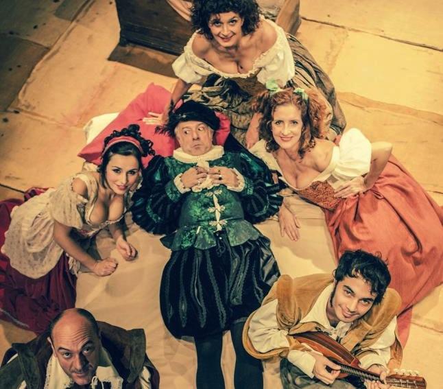 La obra de 'Las rameras de Shakespeare' en el Teatro Echegaray. / T.M.