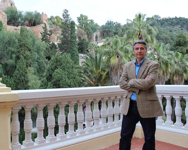 El portavoz adjunto del grupo municipal del PSOE y responsable del centro, Manuel Hurtado.