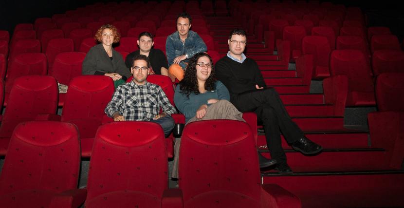 Los realizadores en una sala. / Celia Mondéjar